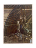 Interior of a Nissen, from British Artists at the Front, Continuation of the Western Front, Part… Giclee Print by Eric Henri Kennington