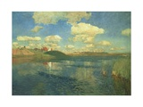 The Lake, or Russia, 1900 Giclee Print by Isaak Ilyich Levitan