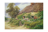 A Cottage at Hythe Giclee Print by Hetty Richards