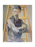 Self Portrait, 1905 Giclee Print by Jacek Malczewski