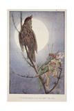 'A Thrush Sang it to Me', from Brownies and Other Tales by Julia Hortia Ewing, Woodward, Alice B… Giclee Print