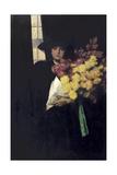 Chrysanthemums, c.1900 Giclee Print by Charles Henry Malcolm Kerr