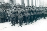 Michael Collins (1890-1922) (Left) as Head of the Irish Free State Army at the Funeral of Arthur… Photographic Print by  Irish Photographer
