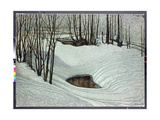 Forest in Winter, c.1905 Giclee Print by Bror Lindh