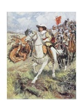 Our Cuirassiers Have Burst on the Ranks of the Accurst, Illustration from 'Ballads of Famous… Giclee Print by William Henry Charles Groome