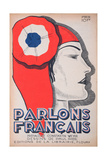 The Witness, Caricature of Marianne, from 'Parlons Francais', 1st July 1934 Giclee Print by Paul Iribe