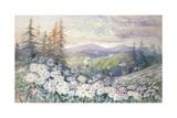 Spring Landscape Giclee Print by Marian Ellis Rowan