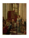 The Anthem, c.1910 Giclee Print by William Teulon Blandford Fletcher