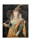 Elizabeth I (1533-1603) Giclee Print by Isaac Oliver
