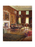 Interior of the State Room, Governor's House, Royal Hospital, Chelsea, 1922 Giclee Print by George Percy Jacomb-Hood