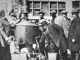 Federal Us Agents Discover an Illegal Alcohol Still During the American Prohibition (1920-33) Photographic Print by  American Photographer