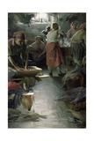 Laundresses, 1901 Giclee Print by Abram Efimovich Arkhipov