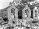 Tombs, Used for the Smallpox Epidemic of 1902, Haiti, 1908-09 Photographic Print by Harry Hamilton Johnston