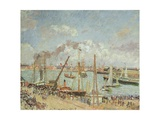 The Port of Le Havre, Afternoon, Sun, 1903 Giclee Print by Camille Pissarro
