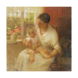 A Cottage Madonna, 1907 Giclee Print by Edward Stott