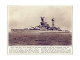 The Battleship, 'Royal Oak', from 'The Illustrated War News', Published 1st November 1939 Giclee Print by  English Photographer