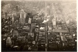 Aerial Photo of Downtown Philadelphia, Taken from the LZ 127 Graf Zeppelin, 1928 Photographic Print by  German photographer