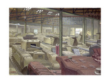 Royal Ordnance Stores Giclee Print by Charles Ginner