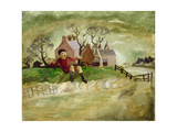 The Jumping Boy, Arundel, West Sussex, 1929 Giclee Print by Christopher Wood