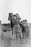 Soldiers in Mesopotamia During World War One Photographic Print by  English Photographer