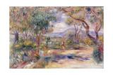 Paysage a Cannes (Renoir's Garden) c.1914 Giclee Print by Pierre-Auguste Renoir