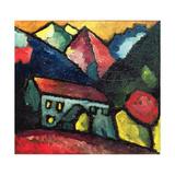 A House in the Mountains, c.1912 Giclee-trykk av Alexej Von Jawlensky