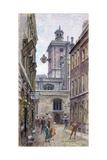 St. Olave's, Hart Street, 1900 Giclee Print by Henry Edward Tidmarsh