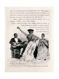 Carmen Dancing, Pub.1901 Giclee Print by Alexandre Lunois