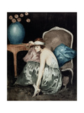 The Flapper Giclee Print by William Ablett