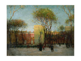 Washington Square, New York, c.1900 Giclee Print by Paul Cornoyer