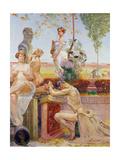 Allegorical Figures, 1913 Giclee Print by Jacek Malczewski