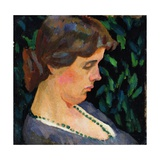 Portrait of Vanessa Bell, 1911 Giclee Print by Roger Eliot Fry