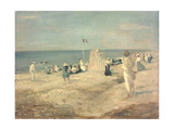 The Beach at Ambleteuse, 1901 Giclee Print by Charles Edward Conder