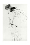Study for 'Hoffnung I' (Hope I) 1903-04 Giclee Print by Gustav Klimt