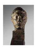 Head of Apollo, 1900 Giclee Print by Emile-antoine Bourdelle