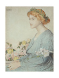 The Laurel Wreath, 1902 Giclee Print by Anthony Frederick Augustus Sandys