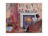 Interior, 31 Mornington Crescent Giclee Print by Spencer Frederick Gore