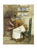 A Frugal Meal Giclee Print by Frederick James McNamara Evans