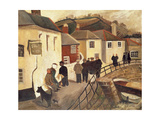 The Ship Hotel, Mousehole, Cornwall, 1928/9 Giclee Print by Christopher Wood