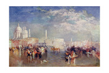 Venice, Illustration from 'Lives of Great Men Told by Great Men', Edited by Richard Wilson, c.1920s Giclee Print by J. M. W. Turner