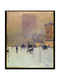 Winter Afternoon in New York, 1900 Giclee Print by Childe Hassam