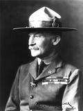 Lieutenant General Sir Robert Stephenson Smyth Baden-Powell (1857-1941) Fotografisk tryk af  French Photographer