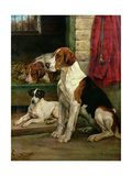 By the Kennels Gicléetryck av Wright Barker