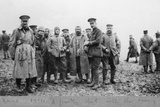 'A Friendly Chat with the Enemy', the Christmas Day Truce of 1914 Photographic Print by  English Photographer