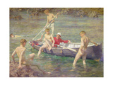 Ruby, Gold and Malachite, 1902 Giclee Print by Henry Scott Tuke