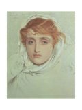 The White Mayde of Avenel, 1902 Giclee Print by Anthony Frederick Augustus Sandys
