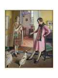 Titbits, 1929 Giclee Print by Harold Harvey