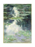 Pond with Water Lilies, 1907 Giclee Print by Claude Monet