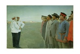 Mobilised, 1904 Giclee Print by Lukjan Vasilievich Popov