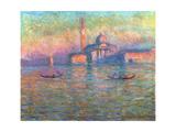 San Giorgio Maggiore, Venice, 1908 Giclee Print by Claude Monet
